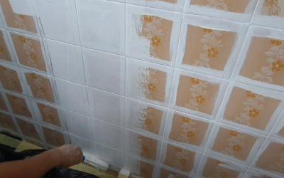 Pintura de azulejos cocina y baño